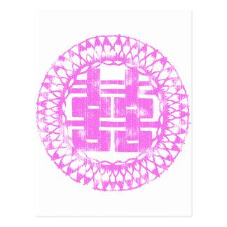 Pink Shuan Xi Postcard