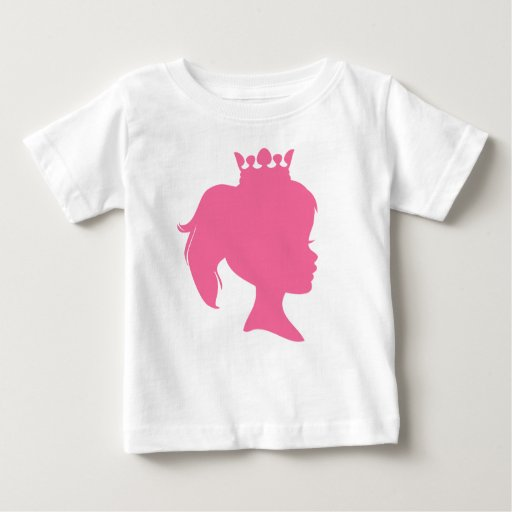 Pink Silhouette Princess T-shirts and Gifts