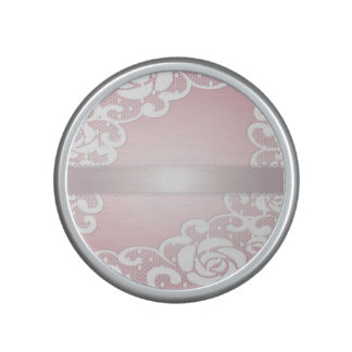 Pink,silk,lace,girly,cute,victorian,vintage,chic, Speaker