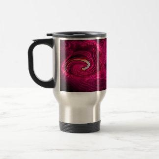 Pink Silk Travel Mug