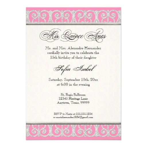 Wording for quinceanera invitations in english alesifo wording for quinceanera invitations in english with nice invitation ideas stopboris Choice Image