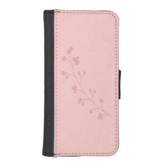 Pink Simplicity iPhone SE/5/5s Wallet