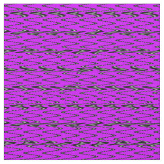 Pink Sine Truchet Fabric