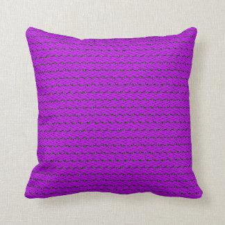 Pink Sine Truchet Pillow