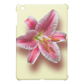 Pink Single Stargazer Lily Case For The iPad Mini
