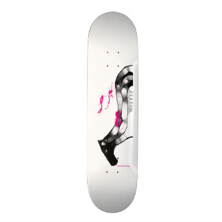 Pink SK 8 board horse