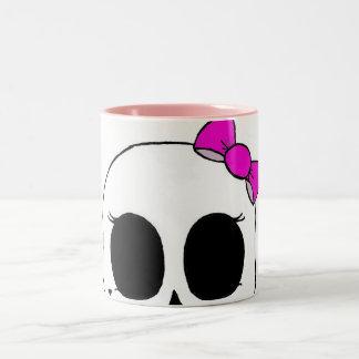 Pink Skellie Mug
