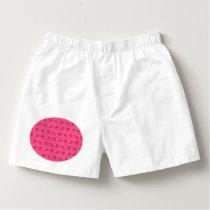 Pink ski pattern boxers