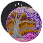 Pink Skies and Purple Trees Button