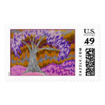 Pink Skies and Purple Trees Stamps