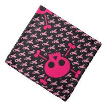 Pink Skull Bandanna