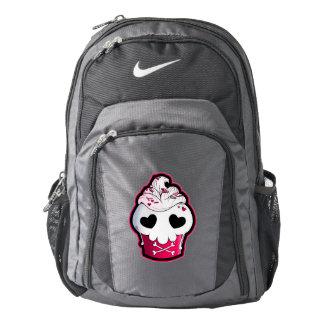 Pink Skull Cupcake Backpack