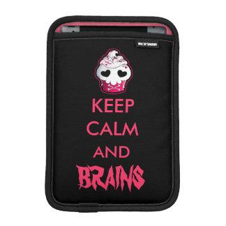 Pink Skull Cupcake iPad Mini Sleeve