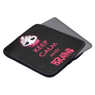 Pink Skull Cupcake Laptop Sleeve