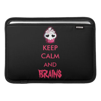 Pink Skull Cupcake MacBook Air Sleeve
