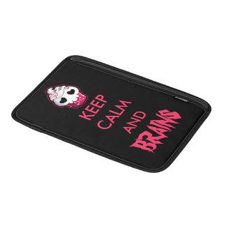 Pink Skull Cupcake Sleeve For MacBook Air