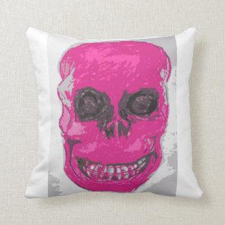 Pink skull, Cushion