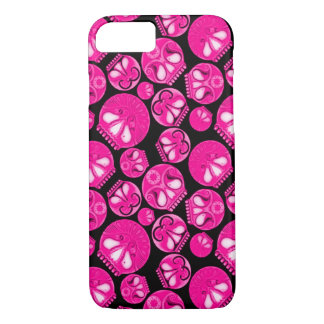 Pink Skull Diary iPhone 7 Case