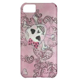 Pink Skull Girl Hot iPhone Case iPhone 5C Case