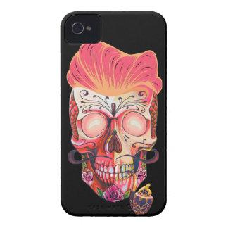 pink skull iPhone 4 Case-Mate case
