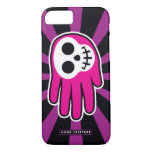 Hand shaped Pink Skull Smile iPhone 8/7 Case