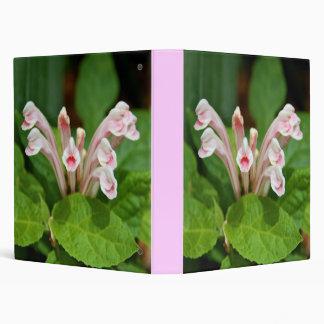 Pink Skullcap 3-Ring Binder