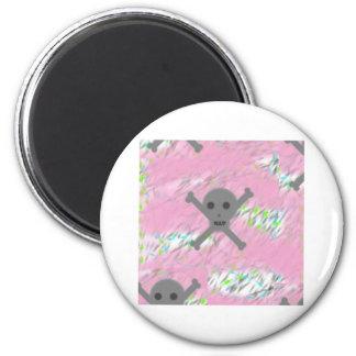 Pink Skullz Magnet