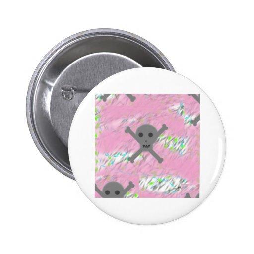 Pink Skullz Pins