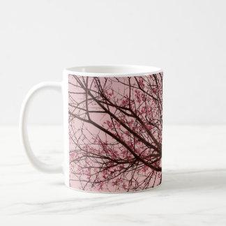 Pink Sky and Tree Branches Coffee Mug
