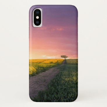 Pink Sky At Night iPhone X Case