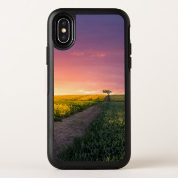 Pink Sky At Night OtterBox Symmetry iPhone X Case