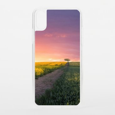Pink Sky At Night iPhone XS Case
