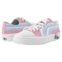 Pink Sky Blue and White Sojourn Max Low-Top Sneakers