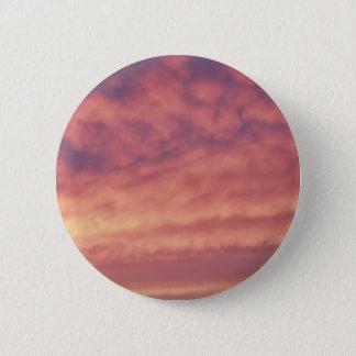 Pink Sky Button / Pin