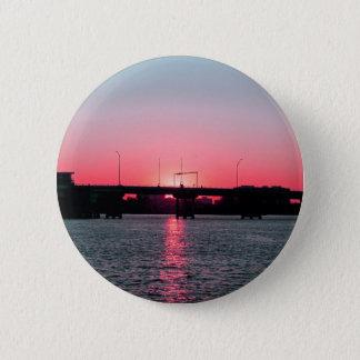 Pink Sky Pinback Button
