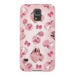 Pink slippers and perfume case for galaxy s5