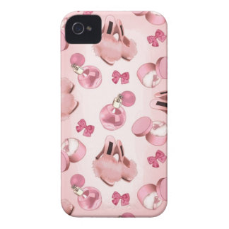 Pink slippers and perfume Case-Mate iPhone 4 case
