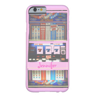 Pink Slot Machine Casino Gambler Barely There iPhone 6 Case