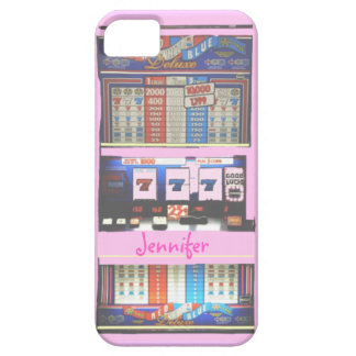 Pink Slot Machine Casino Gambler iPhone SE/5/5s Case