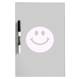 Pink smiley face dry erase whiteboards