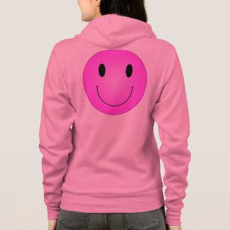 Pink Smiley Hoodie