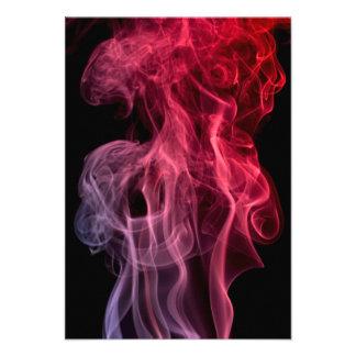 Pink Smoke Personalized Invite
