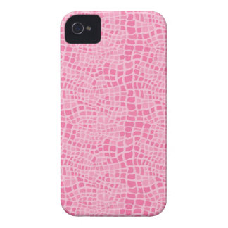 Pink Snakeskin Pattern iPhone 4 Case-Mate Case