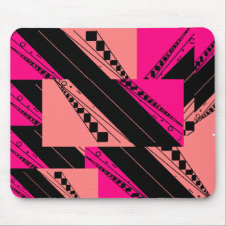 Pink Snap Mouse Pad