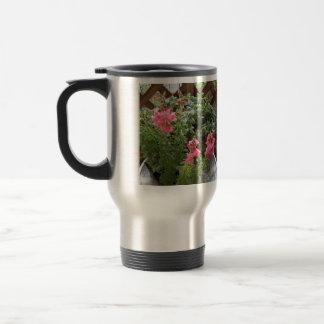 Pink Snapdragon Flowers Coffee Mug