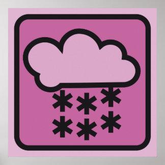 pink snow 01 print
