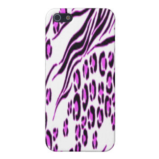 Pink Snow Leopard Stylish iPhone 4 Speck Case iPhone 5 Cases