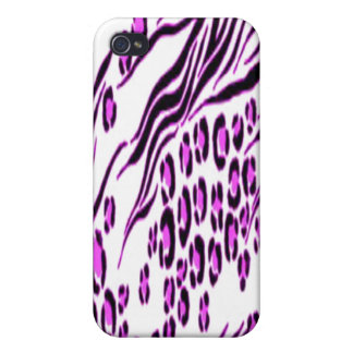 Pink Snow Leopard Stylish iPhone 4 Speck Case Cover For iPhone 4