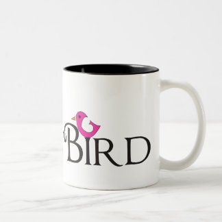Pink Snowbird Coffee Mug