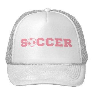 Pink Soccer Hat